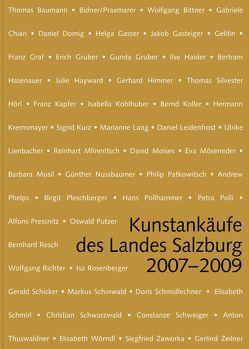 Kunstankäufe des Landes Salzburg 2007-2008