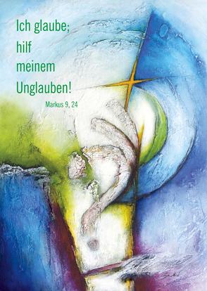 Kunstblatt 40 x 60 cm Jahreslosung 2020 von Sautter,  Andrea