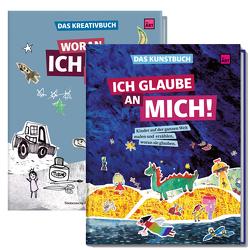 Kunstbuch und Kreativbuch im Set von Janker,  Elena