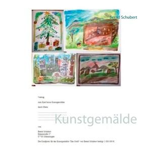 Kunstgemälde von Schubert,  Bernd