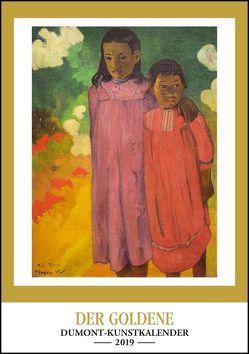 Kunstkalender 2019 – Der Goldene DUMONT-Kunstkalender – Wandkalender – Hochformat A3 29,5 x 42 cm von DUMONT Kalenderverlag