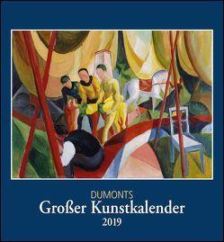 Kunstkalender 2019, DuMonts Großer Kunstkalender, Wandkalender Format 44,5 x 48 cm von DUMONT Kalenderverlag