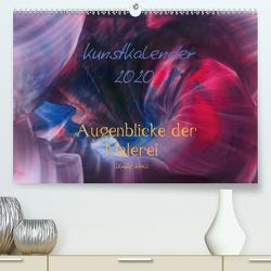 Kunstkalender 2020 – Augenblicke der Malerei (Premium, hochwertiger DIN A2 Wandkalender 2020, Kunstdruck in Hochglanz) von Kröll,  Ulrike