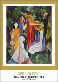 Kunstkalender 2020 – Der Goldene DUMONT-Kunstkalender – Wandkalender – Hochformat A3 29,7 x 42 cm von DUMONT Kalenderverlag