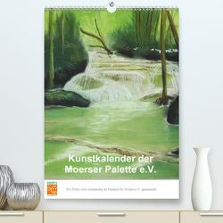 Kunstkalender der Moerser Palette e.V. (Premium, hochwertiger DIN A2 Wandkalender 2021, Kunstdruck in Hochglanz) von der Moerser Palette e.V.,  Miglieder