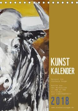 KUNSTKALENDER ONE OF THE BIG FIVE (Tischkalender 2018 DIN A5 hoch) von N.,  N.