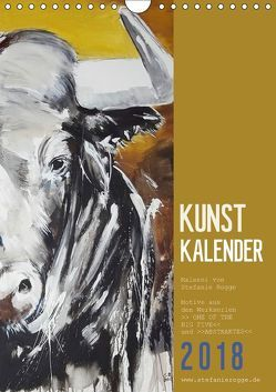 KUNSTKALENDER ONE OF THE BIG FIVE (Wandkalender 2018 DIN A4 hoch) von N.,  N.