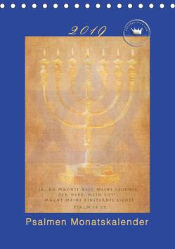Kunstkalender Psalmen Israel (Tischkalender 2019 DIN A5 hoch) von SWITZERLAND,  ©KAVODEDITION