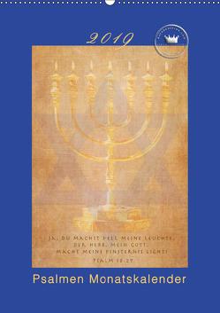Kunstkalender Psalmen Israel (Wandkalender 2019 DIN A2 hoch) von SWITZERLAND,  ©KAVODEDITION