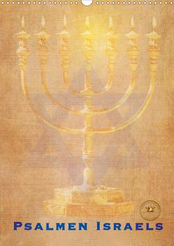 Kunstkalender Psalmen Israel (Wandkalender 2020 DIN A3 hoch) von SWITZERLAND,  ©KAVODEDITION