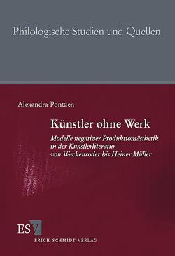 Künstler ohne Werk von Pontzen,  Alexandra