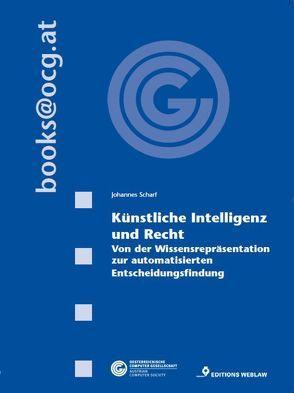 Künstliche Intelligenz und Recht von Scharf,  Johannes