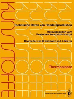 Kunststoffe von Carlowitz,  Bodo, Deutsches Kunststoff-Institut, Wierer,  Jutta