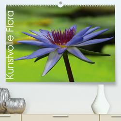 Kunstvolle Flora (Premium, hochwertiger DIN A2 Wandkalender 2020, Kunstdruck in Hochglanz) von Laimgruber,  Dagmar