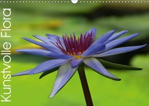 Kunstvolle Flora (Wandkalender 2018 DIN A3 quer) von Laimgruber,  Dagmar