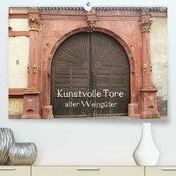 Kunstvolle Tore alter Weingüter (Premium, hochwertiger DIN A2 Wandkalender 2020, Kunstdruck in Hochglanz) von Andersen,  Ilona