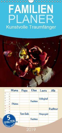 Kunstvolle Traumfänger – Familienplaner hoch (Wandkalender 2019 , 21 cm x 45 cm, hoch) von Tanja Richter,  Schamanin
