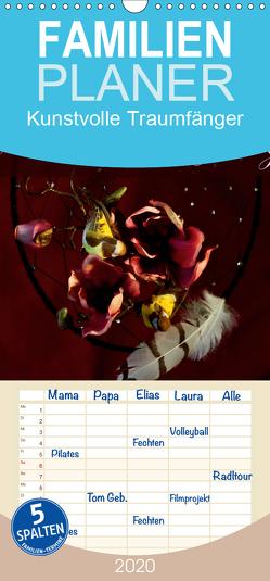 Kunstvolle Traumfänger – Familienplaner hoch (Wandkalender 2020 , 21 cm x 45 cm, hoch) von Tanja Richter,  Schamanin