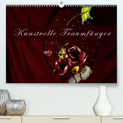 Kunstvolle Traumfänger (Premium, hochwertiger DIN A2 Wandkalender 2021, Kunstdruck in Hochglanz) von Tanja Richter,  Schamanin