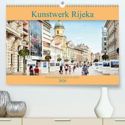Kunstwerk Rijeka-Erkundung einer Stadt! (Premium, hochwertiger DIN A2 Wandkalender 2020, Kunstdruck in Hochglanz) von Gross,  Viktor