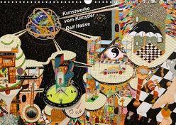 Kunstwerke vom Künstler Ralf Hasse (Wandkalender 2018 DIN A3 quer) von Hasse,  Ralf