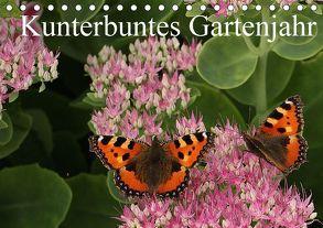 Kunterbuntes Gartenjahr (Tischkalender 2018 DIN A5 quer) von Bagunk,  Anja