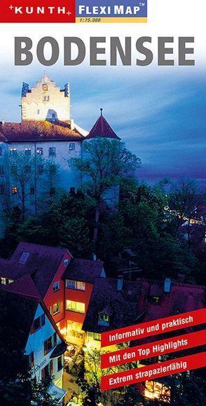 KUNTH FlexiMap Bodensee 1:75000 von KUNTH Verlag
