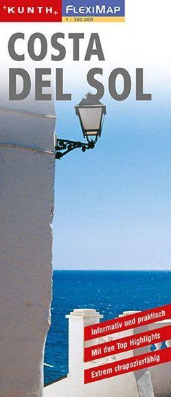 KUNTH FlexiMap Costa del Sol 1:300000 von KUNTH Verlag