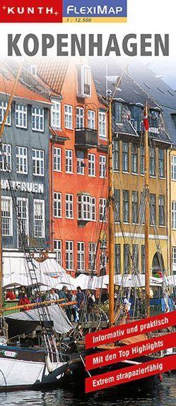 KUNTH FlexiMap Kopenhagen 1:12500 / 1:900000 von KUNTH Verlag