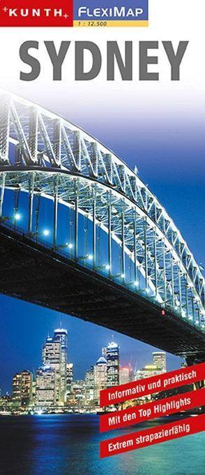 KUNTH FlexiMap Sydney 1:12500 von KUNTH Verlag