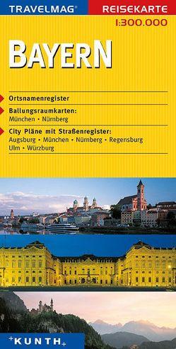 KUNTH Reisekarte Bayern 1:300000 von KUNTH Verlag