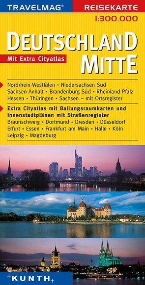 KUNTH Reisekarte Deutschland Mitte 1:300000 von KUNTH Verlag