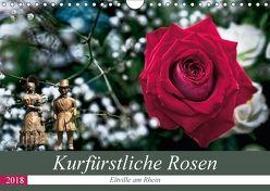 Kurfürstliche Rosen – Eltville am Rhein (Wandkalender 2018 DIN A4 quer) von Meyer,  Dieter