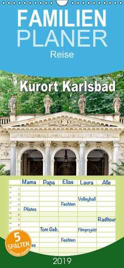 Kurort Karlsbad – Familienplaner hoch (Wandkalender 2019 , 21 cm x 45 cm, hoch) von Schwarze,  Nina