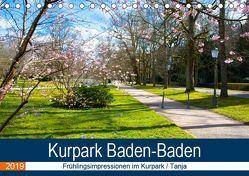 Kurpark Baden-Baden (Tischkalender 2019 DIN A5 quer) von Voigt,  Tanja