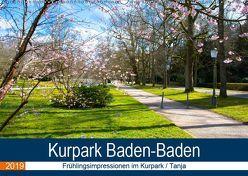 Kurpark Baden-Baden (Wandkalender 2019 DIN A2 quer) von Voigt,  Tanja