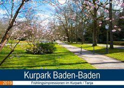 Kurpark Baden-Baden (Wandkalender 2019 DIN A4 quer) von Voigt,  Tanja