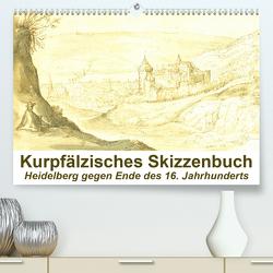 Kurpfälzisches Skizzenbuch Heidelberg (Premium, hochwertiger DIN A2 Wandkalender 2021, Kunstdruck in Hochglanz) von Liepke,  Claus