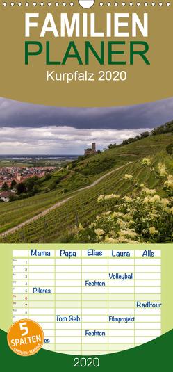 Kurpfalz – Familienplaner hoch (Wandkalender 2020 , 21 cm x 45 cm, hoch) von Losekann,  Holger
