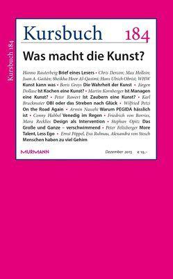Kursbuch 184 von Felixberger,  Peter, Nassehi,  Armin