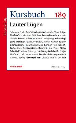 Kursbuch 189 von Felixberger,  Peter, Nassehi,  Armin