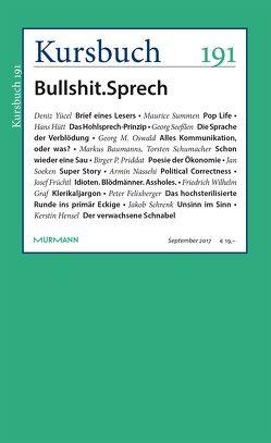 Kursbuch 191 von Felixberger,  Peter, Nassehi,  Armin