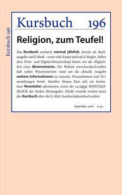 Kursbuch 196 von Felixberger,  Peter, Nassehi,  Armin