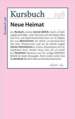 Kursbuch 198 von Felixberger,  Peter, Nassehi,  Armin