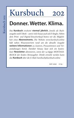 Kursbuch 202 von Felixberger,  Peter, Nassehi,  Armin