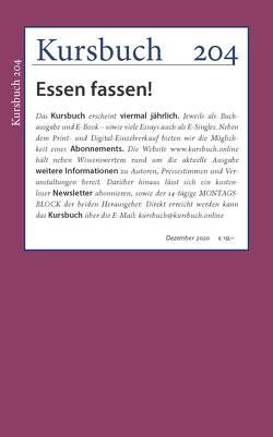 Kursbuch 204 von Felixberger,  Peter, Nassehi,  Armin