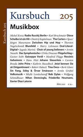 Kursbuch 205 von Felixberger,  Peter, Nassehi,  Armin