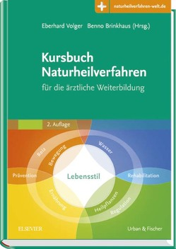 Kursbuch Naturheilverfahren von Brinkhaus,  Benno, Volger,  Eberhard
