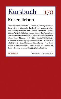 Kursbuch Nr. 170 von Nassehi,  Armin
