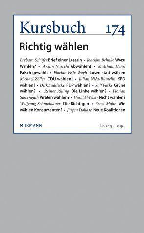 Kursbuch Nr. 174 von Nassehi,  Armin